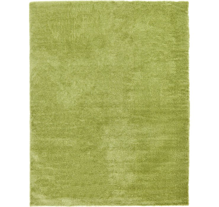 12' 2 x 16' Luxury Solid Shag Rug