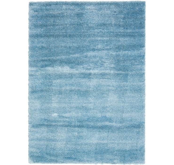 8' x 11' 4 Luxe Solid Shag Rug
