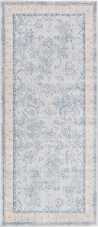 Light Blue 2 7 X 6 Restoration Runner Rug Area Rugs