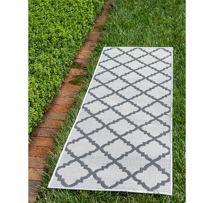 2' 2 x 6' Outdoor Lattice Runner ...
