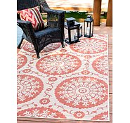 Link to 213cm x 305cm Outdoor Botanical Rug