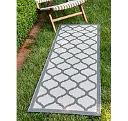 Link to 2' 2 x 6' Outdoor Trellis Runner Rug