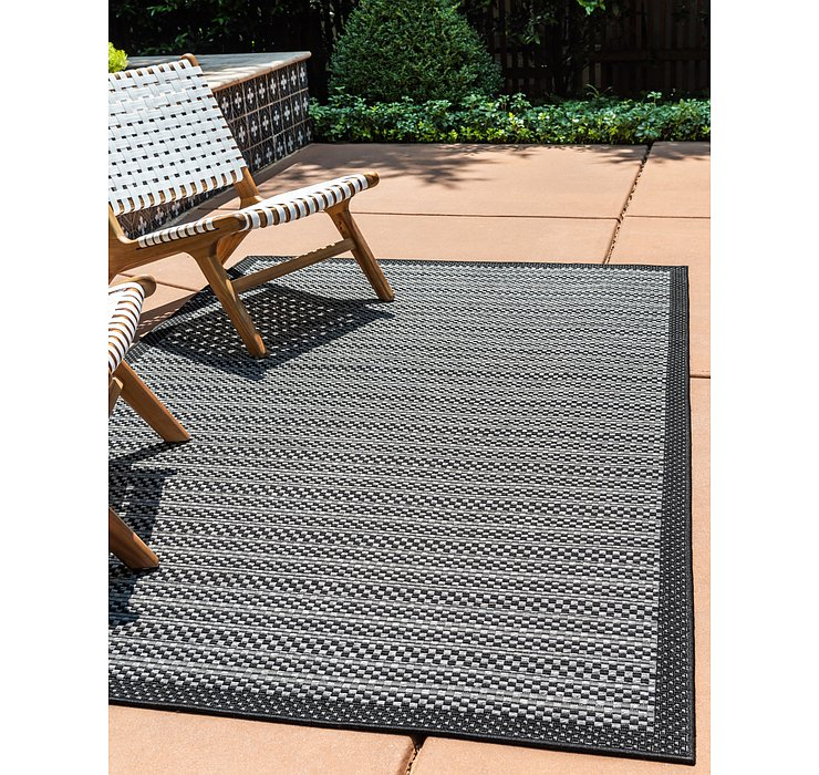 275cm x 365cm Outdoor Border Rug