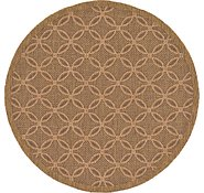 Link to 6' x 6' Outdoor Trellis Round Rug