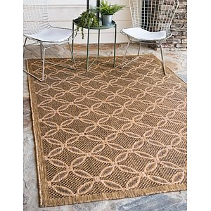 Unique Loom 5' 3 x 8' Outdoor Rug