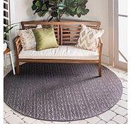 Link to 183cm x 183cm Outdoor Modern Round Rug