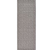Link to Unique Loom 2' 2 x 6' Outdoor Modern Runner Rug