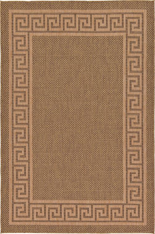 Brown 7 39 X 10 39 Outdoor Rug Area Rugs IRugs UK