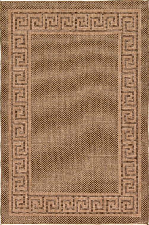 Brown 7 x 10 Outdoor Rug Area Rugs