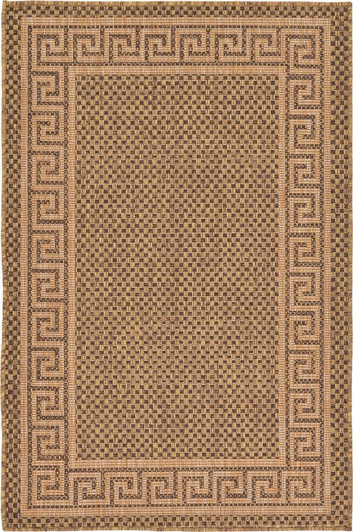 Brown 3 39 3 X 5 39 Outdoor Rug Area Rugs IRugs UK