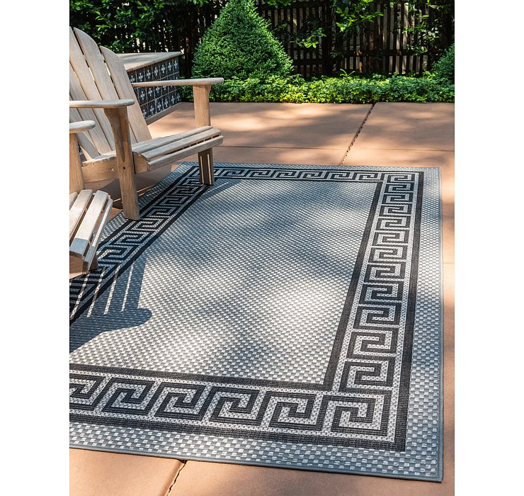 213cm x 305cm Outdoor Border Rug