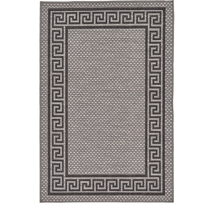 3' 3 x 5' Outdoor Border Rug