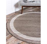 Link to Unique Loom 6' x 6' Del Mar Round Rug