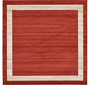Link to Unique Loom 8' x 8' Del Mar Square Rug