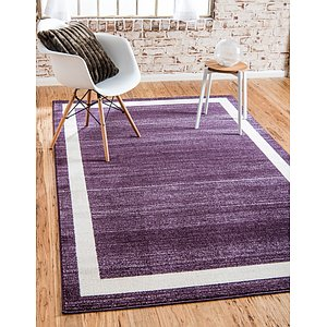 Unique Loom 6' x 9' Del Mar Rug
