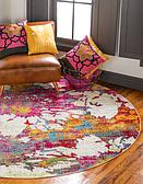 183cm x 183cm Florence Round Rug thumbnail