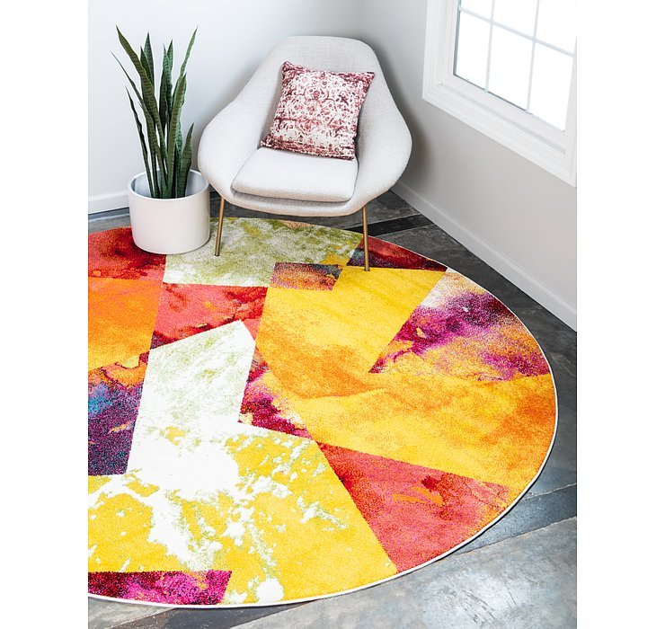 8' x 8' Florence Round Rug