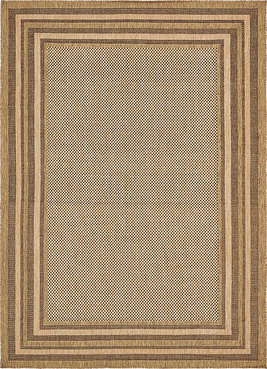 Light Brown 8 39 X 11 39 4 Outdoor Rug Area Rugs IRugs UK