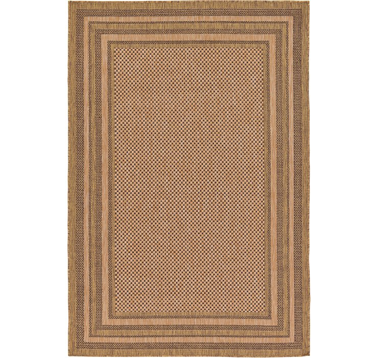 160cm x 245cm Outdoor Border Rug