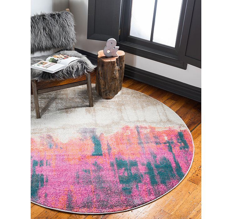 6' x 6' Delilah Round Rug