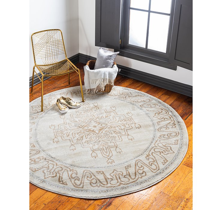 8' x 8' Delilah Round Rug