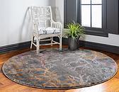 6' x 6' Aria Round Rug thumbnail image 2