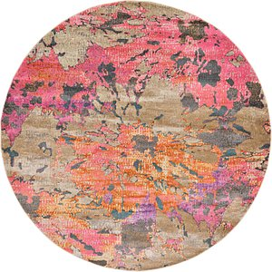 Link to 8' x 8' Aria Round Rug page