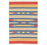 Link to 4' 7 x 6' 7 Kilim Dhurrie Rug