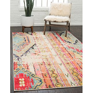 Unique Loom 5' x 8' Sedona Rug