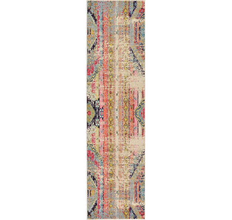 2' 7 x 10' Santa Fe Runner Rug