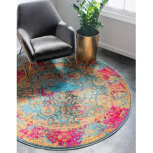 Link to 245cm x 245cm Palazzo Round Rug page