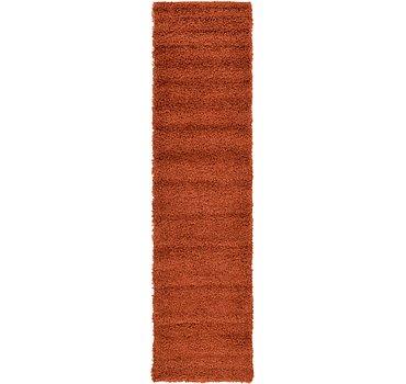 76x305 Solid Shag Rug