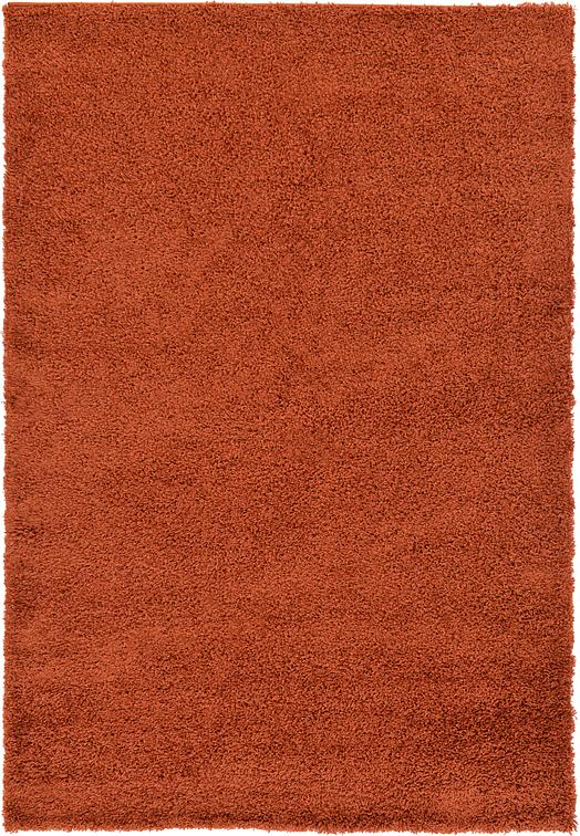 Terracotta 6 X 9 Solid Shag Rug Area Rugs Irugs Uk