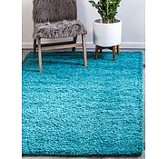 Link to Unique Loom 3' 3 x 5' 3 Solid Shag Rug