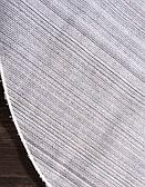 8' 2 x 8' 2 Solid Shag Round Rug thumbnail image 9