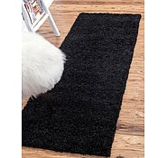 Link to 2' 6 x 10' Solid Shag Runner Rug