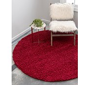 Link to 250cm x 250cm Solid Shag Round Rug