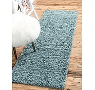 Link to 2' 6 x 13' Solid Shag Runner Rug
