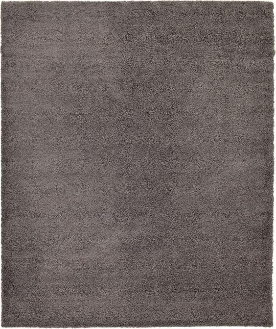 graphite gray 12 39 x 15 39 10 solid shag rug area rugs irugs uk. Black Bedroom Furniture Sets. Home Design Ideas