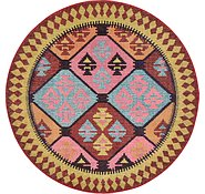 Link to 6' x 6' Santa Fe Round Rug