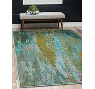 Link to Unique Loom 3' 3 x 5' 3 Jardin Rug