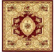 Link to Unique Loom 6' x 6' Versailles Square Rug