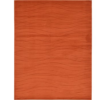 274x366 Carved Gabbeh Rug