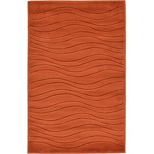 3' 3 x 5' 3 Carved Gabbeh Rug