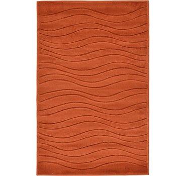 99x160 Carved Gabbeh Rug