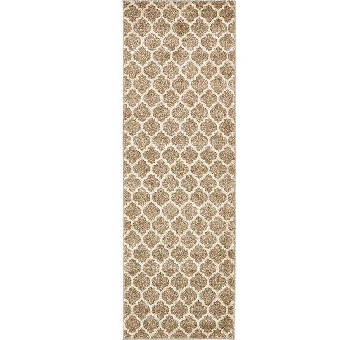 2' 7 x 8' Lattice Runner Rug