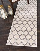 2' x 6' Lattice Runner Rug thumbnail image 1