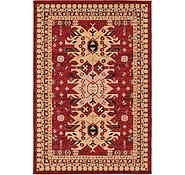 Link to 6' x 9' Heriz Design Rug