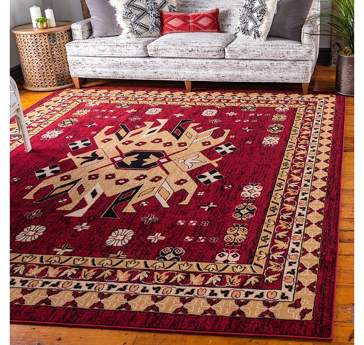 8' x 8' Heris Square Rug