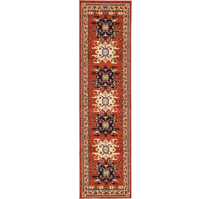 2' 2 x 8' 2 Heris Runner Rug